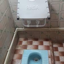 مشخصات، قیمت و خرید توالت فرنگی آسانا مدل تاشو دیواری
