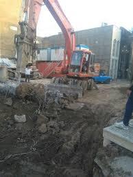 تخریب ساختمان شهبازی