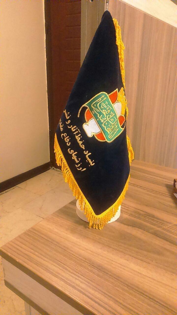 پرچم رومیزی سپاه