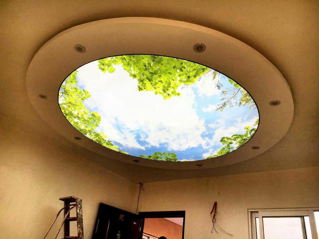 سقف کشسان به سبک مدرن