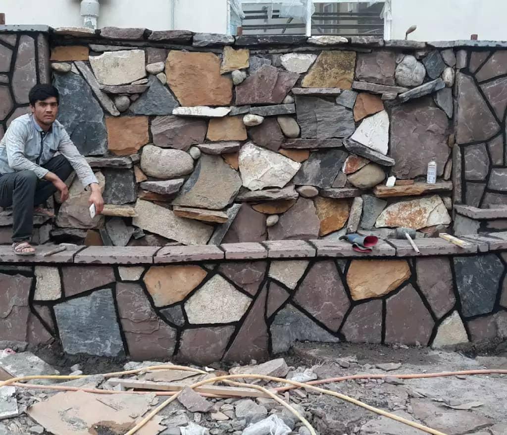 سنگ لاشه سنگ کوهی سنگ مالون سنگ ورقه ای سنگ قلوه سنگ بادبر